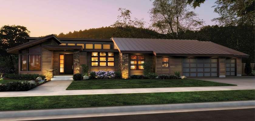 Mascord House Plan 1327: The Mercer