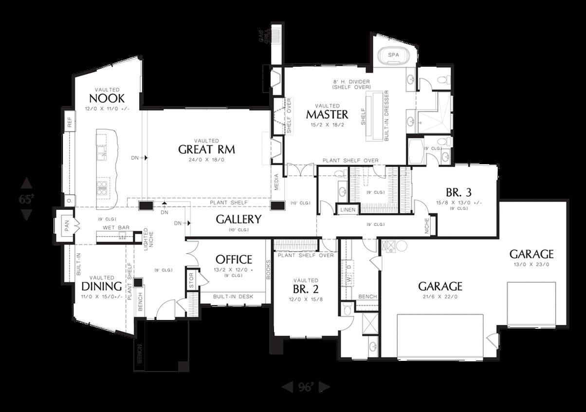 House Plan 1327 The Mercer