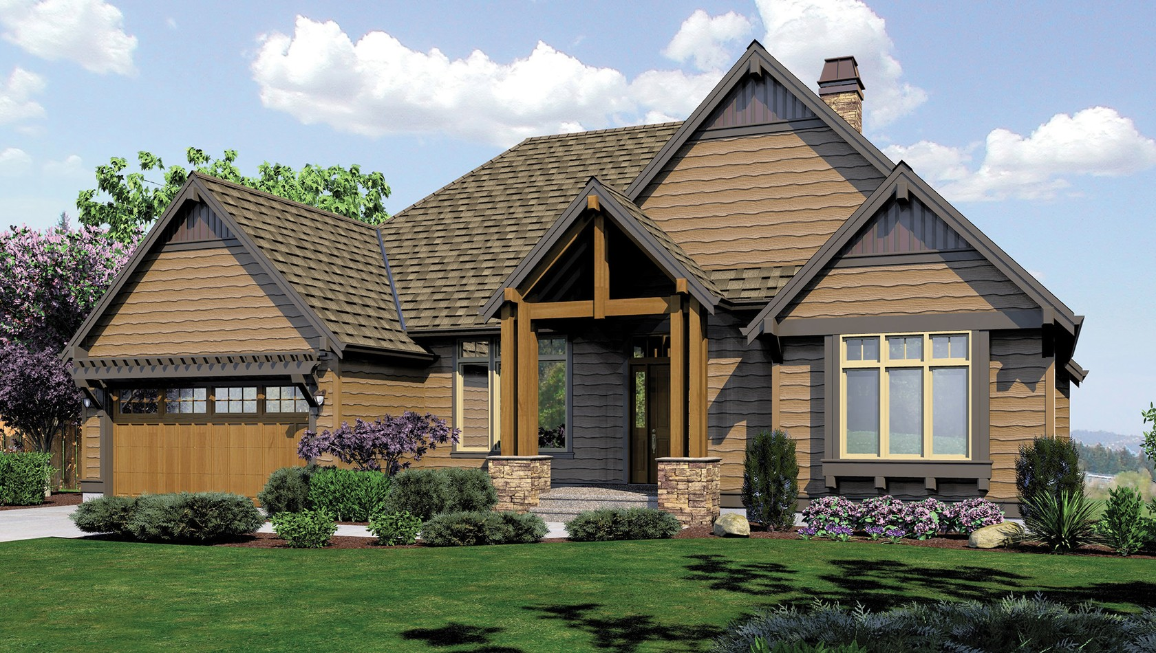 Mascord House Plan 1329: The Sycamore