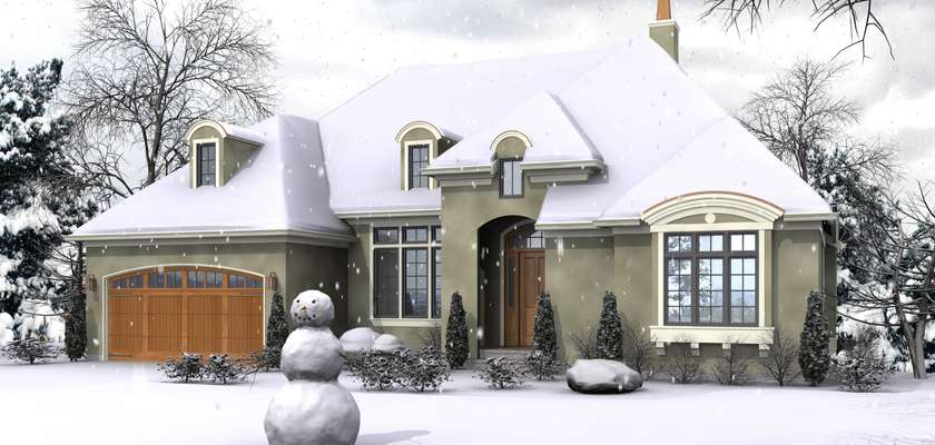 Mascord House Plan 1329A: The Langley