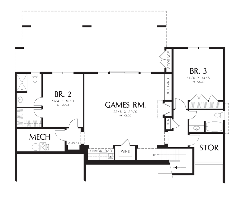 House Plan 1329A -The Langley