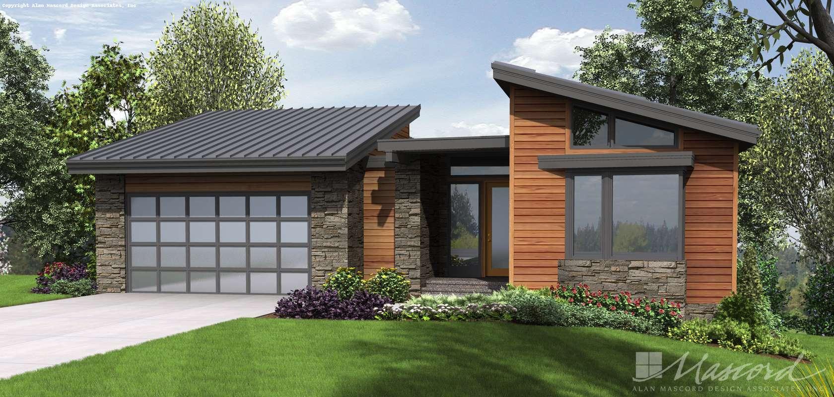 Mascord House Plan 1330: The Cormac