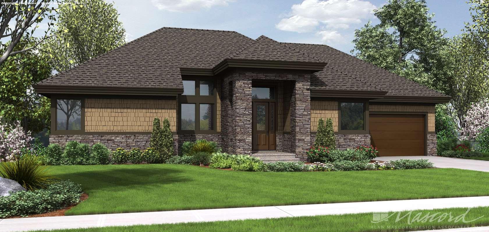 Mascord House Plan 1332: The Thompson
