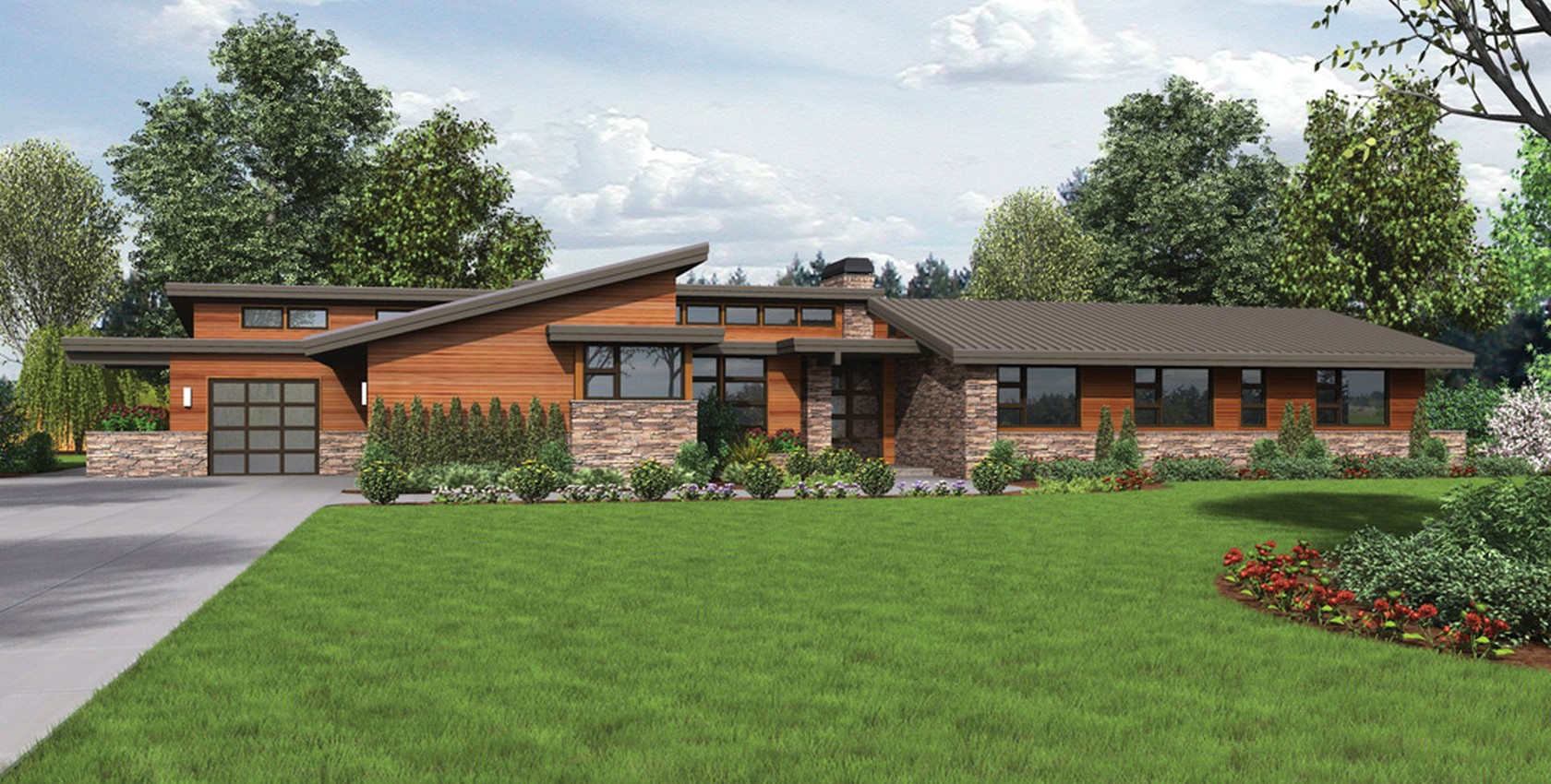 Image for Broadway-Well Organized Luxurious Contemporary Plan-5920