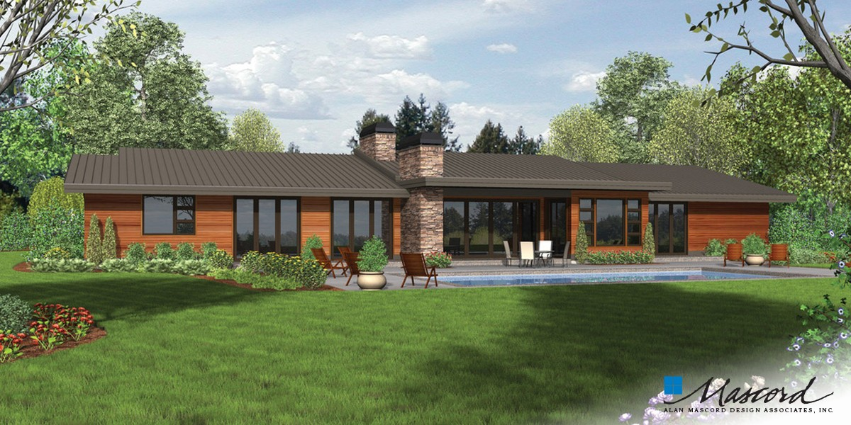 Image for Broadway-Well Organized Luxurious Contemporary Plan-Rear Rendering