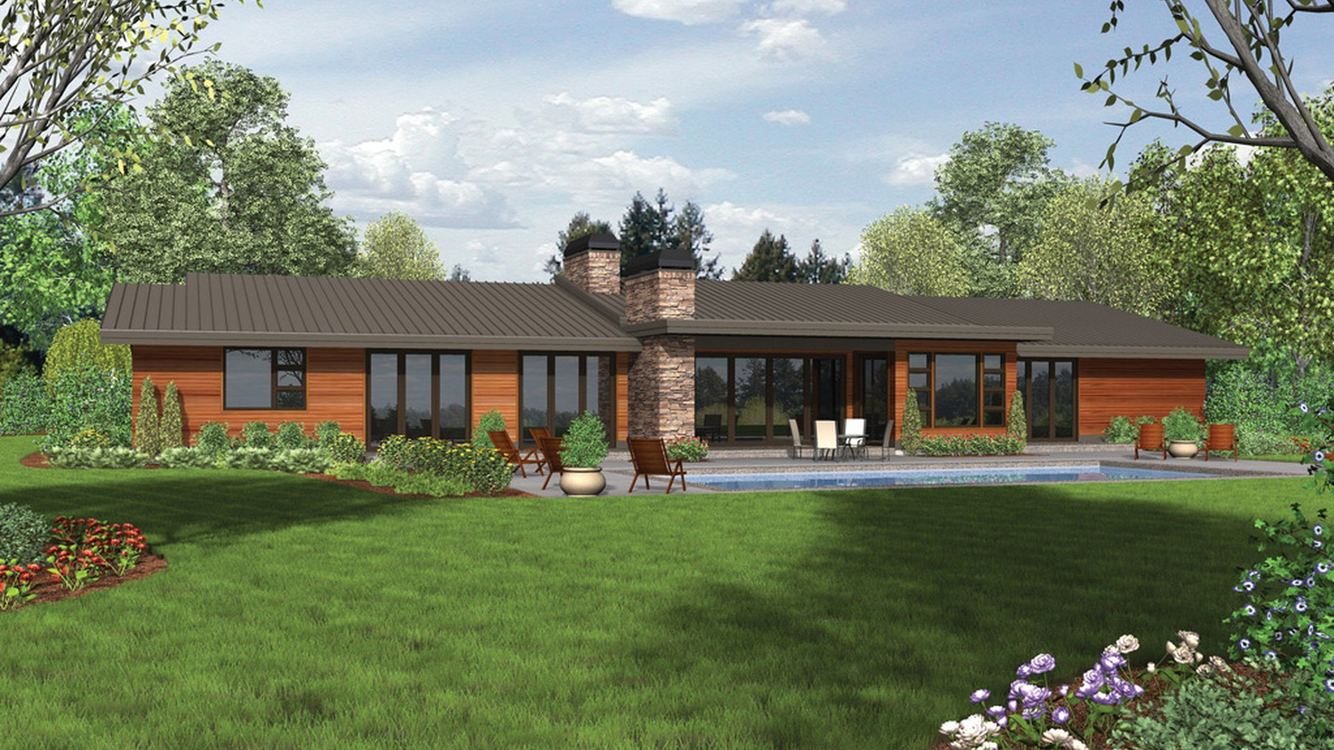 Contemporary House Plan 1333 The Broadway 3938 Sqft 4