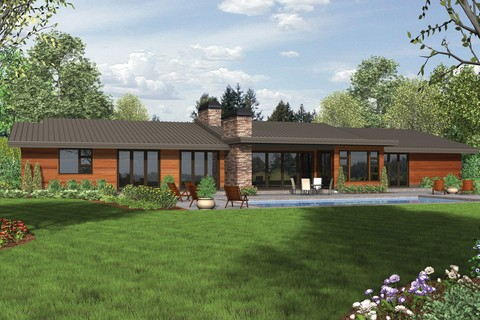 Image for Broadway-Well Organized Luxurious Contemporary Plan-5921