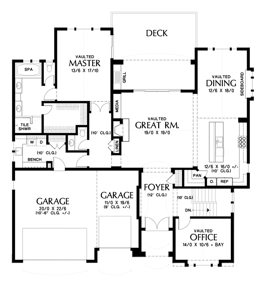 Craftsman house plan 1337 the ashwood 3602 sqft 4 for The perfect house plan