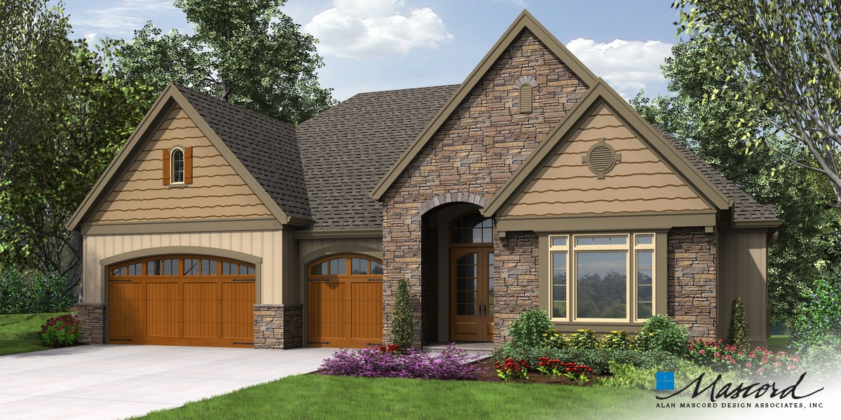 Image for Ashwood-Luxury Inside and Out, Perfect for Sloped Lots- Great Outdoor Spaces-Front Rendering