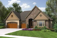 Front Rendering of Mascord House Plan 1337 - The Ashwood