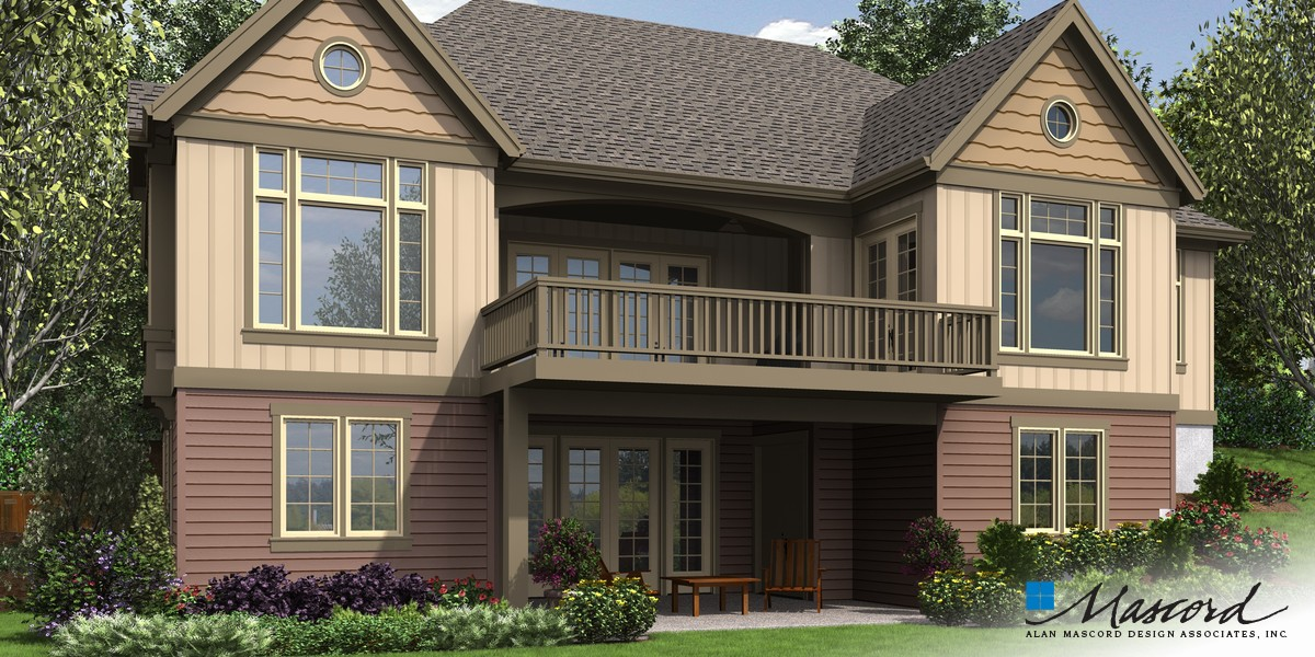 Image for Ashwood-Luxury Inside and Out, Perfect for Sloped Lots- Great Outdoor Spaces-Rear Rendering