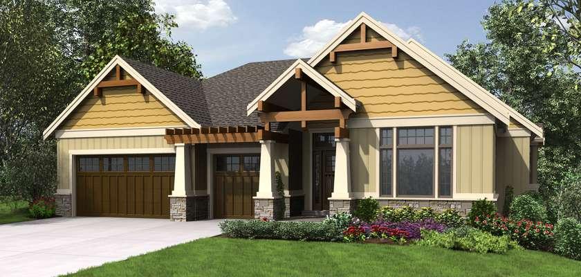 Mascord House Plan 1337A: The Beaverton