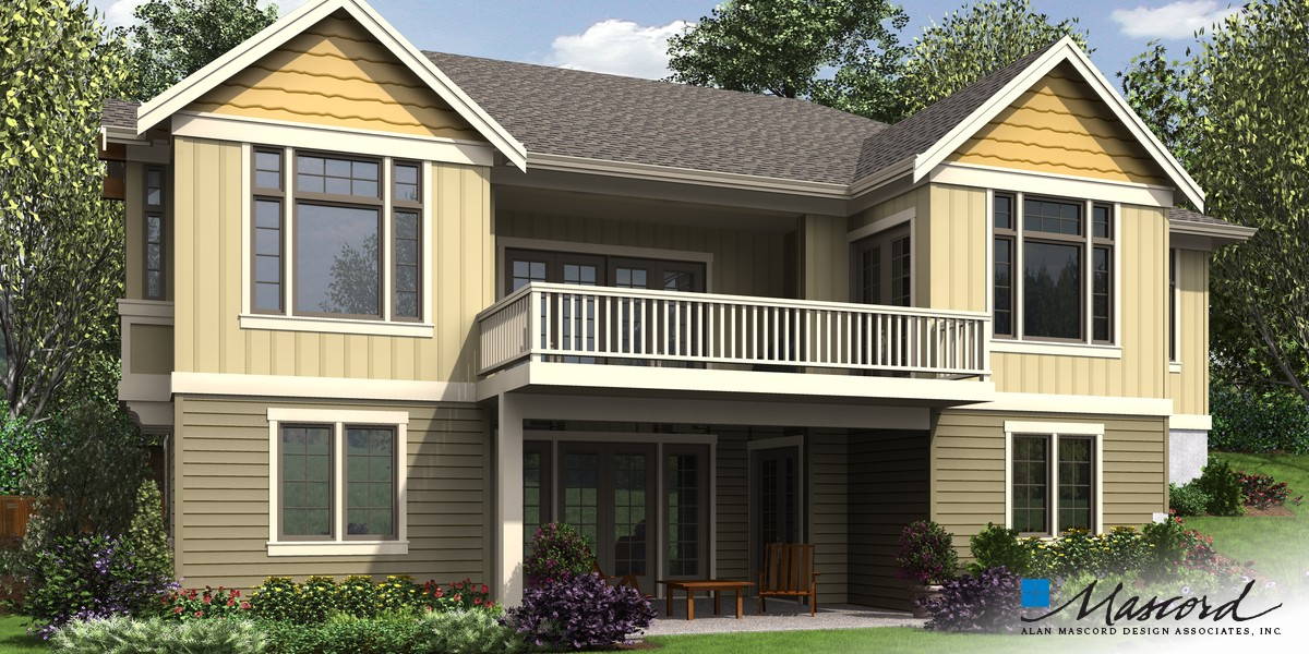 Image for Beaverton-Beautiful Craftsman with Lots of Character-Rear Rendering