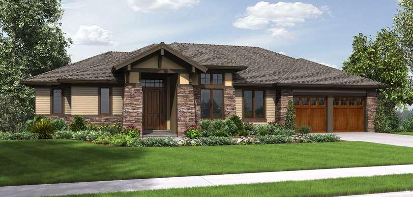 Mascord House Plan 1339: The Briarwood