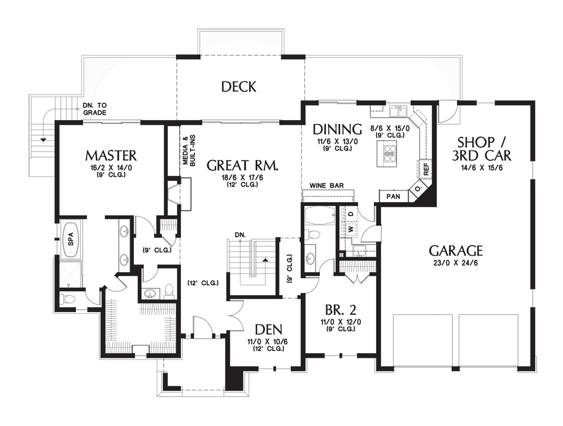 House plan 1339 the briarwood for Great home plans