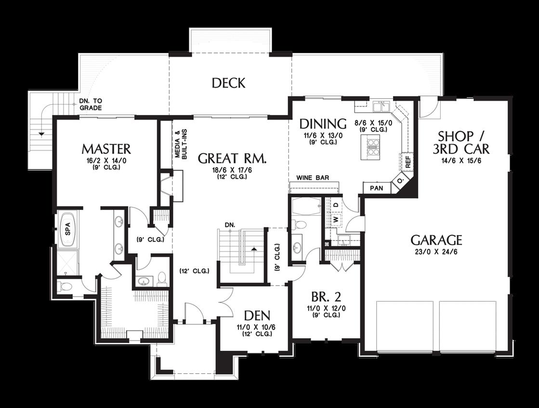 House Plan 1339 The Briarwood