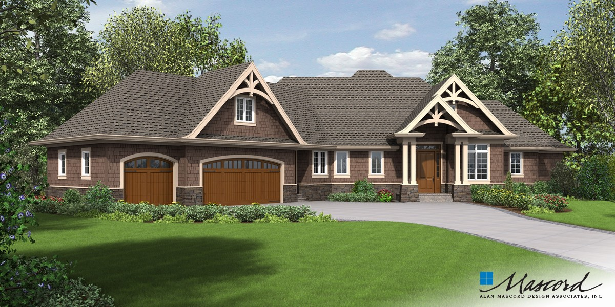 Image for Copperfield-Delightful Amenity Rich Ranch Style Home-Front Rendering
