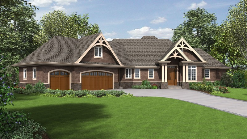 Craftsman House Plan 1340 The Copperfield: 3806 Sqft, 3 Bedrooms ...
