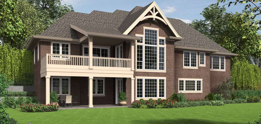 Mascord House Plan 1340: The Copperfield