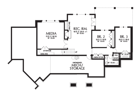 Image for Copperfield-Delightful Amenity Rich Ranch Style Home-Lower Floor Plan