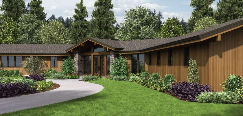 Mascord House Plan 1343: The Dandridge