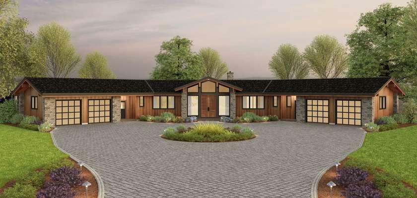 Mascord House Plan 1343A: The Highfield