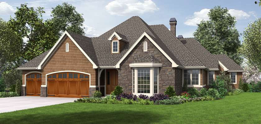 Mascord House Plan 1344: The Sweitzer