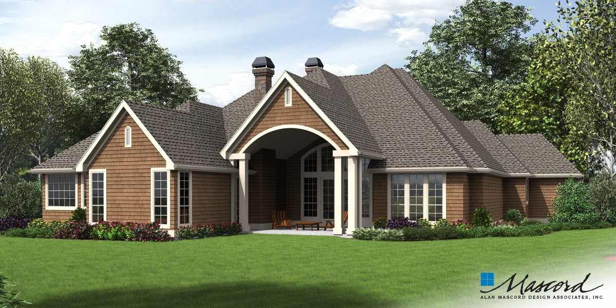 Image for Sweitzer-Spacious Single Level, Amenities for Everyone-Rear Rendering