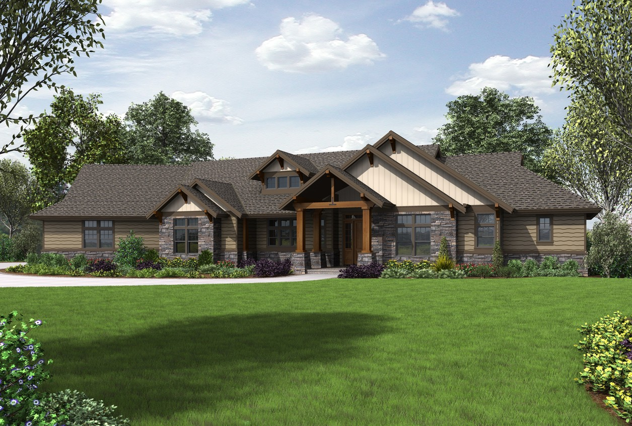 House Plan 1345 -The Wilson