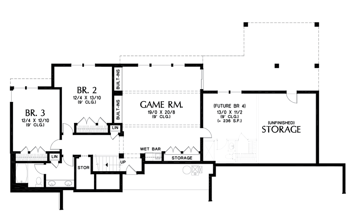 Image for Trenton-Upscale Home with Room for the Future-Lower Floor Plan
