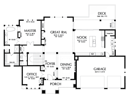 Image for Trenton-Upscale Home with Room for the Future-Main Floor Plan