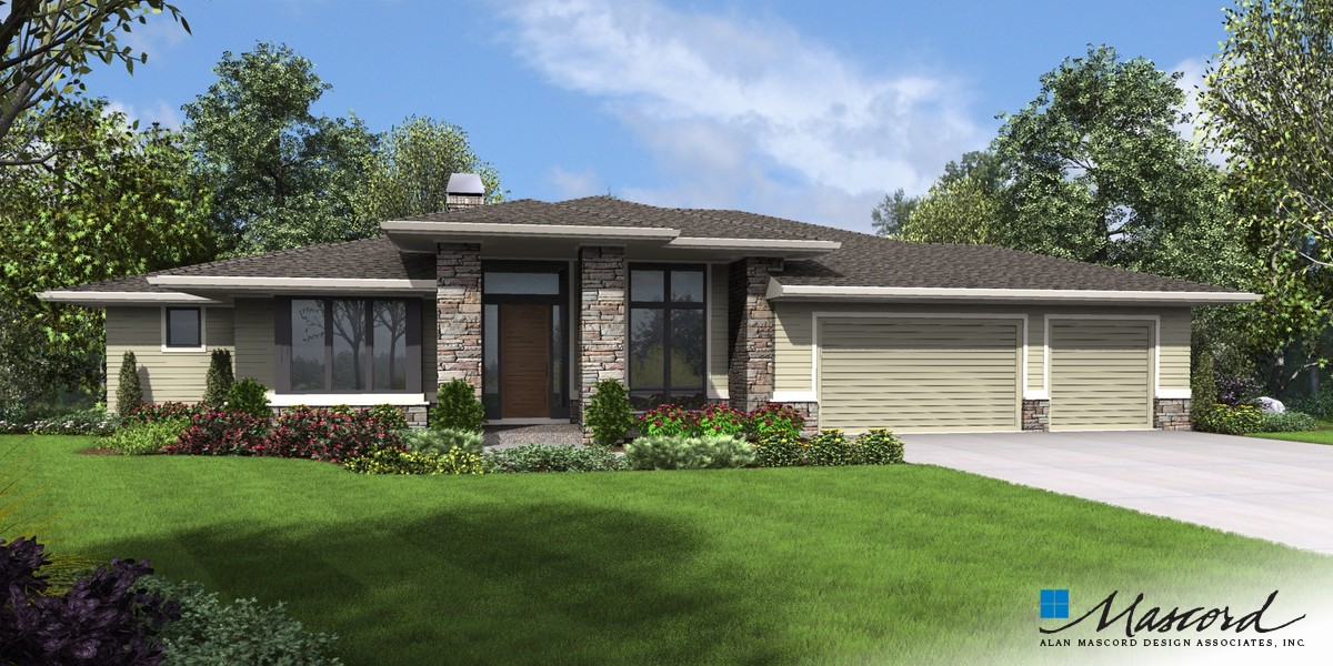 Image for Trenton-Upscale Home with Room for the Future-Front Rendering