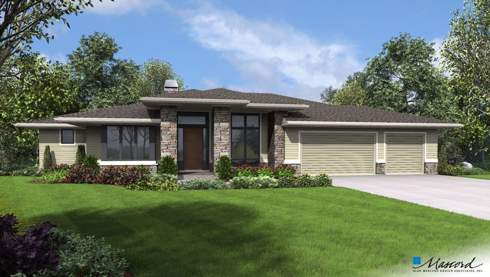 Main image for house plan 1346: The Trenton