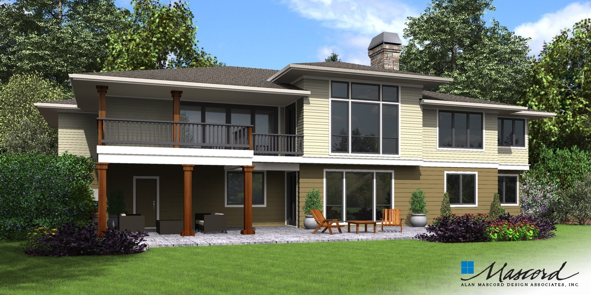 Image for Trenton-Upscale Home with Room for the Future-Rear Rendering