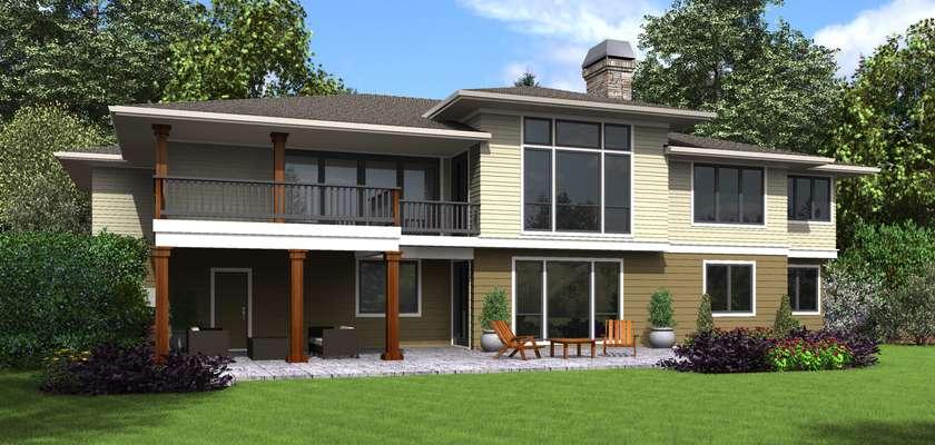Mascord House Plan 1346: The Trenton