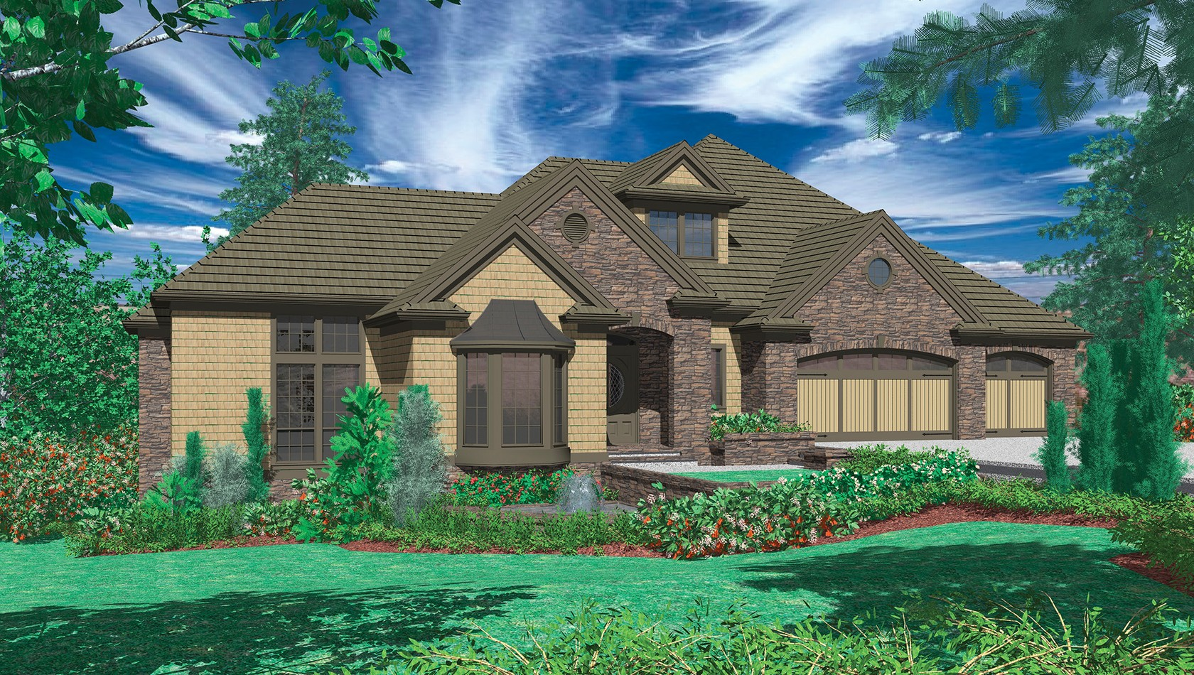 Main image for house plan 1404: The Avellana