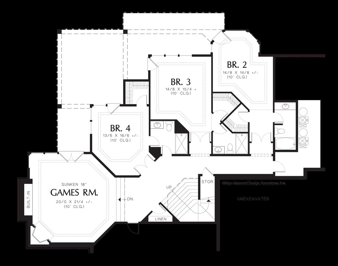 mascord house plan 1404 the avellana