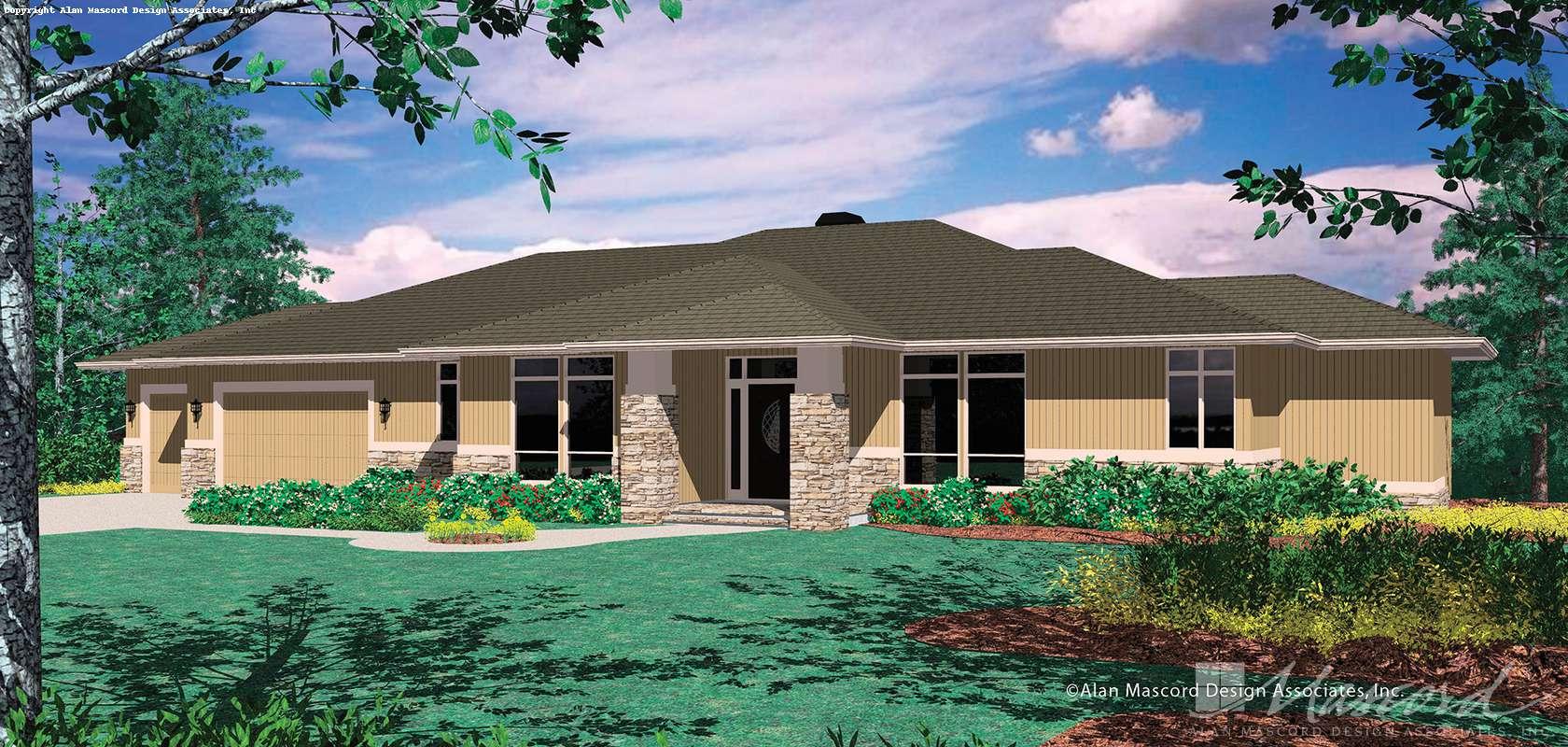 Mascord House Plan 1405: The Jalena