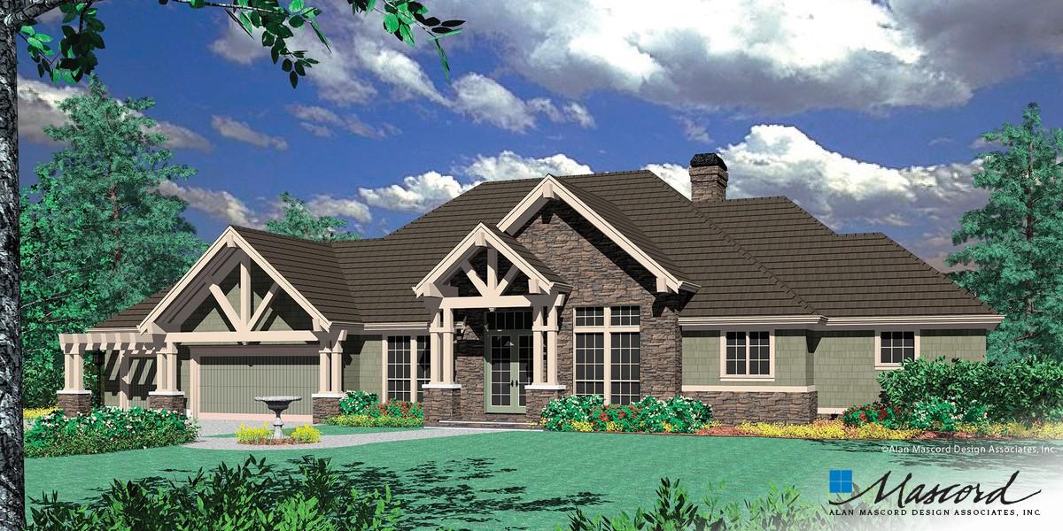 Mascord House Plan 1406