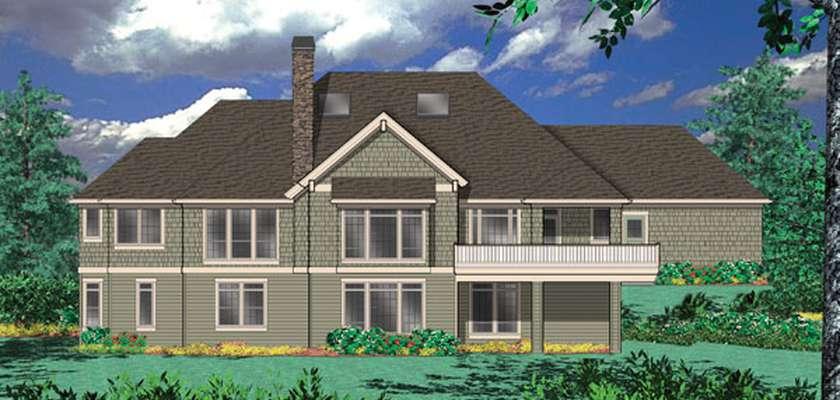 Mascord House Plan 1406: The Holdsworth