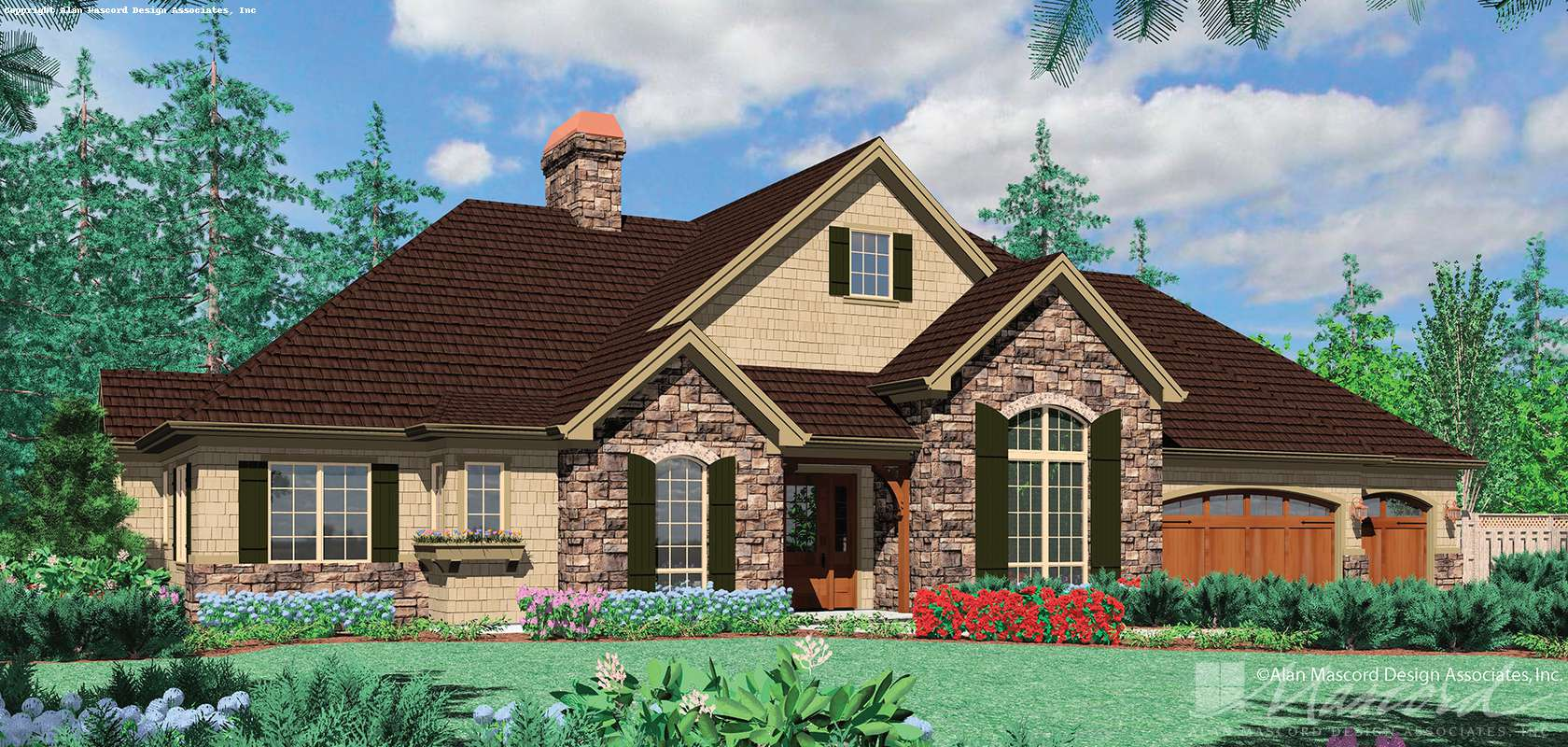 Mascord House Plan 1408: The Jorgenson