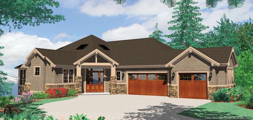 Mascord House Plan 1409: The Kellenberg