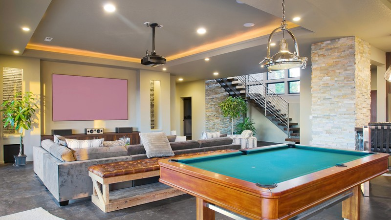 Image for Norcutt-Contemporary Plan with a Glass Floor-Games Room