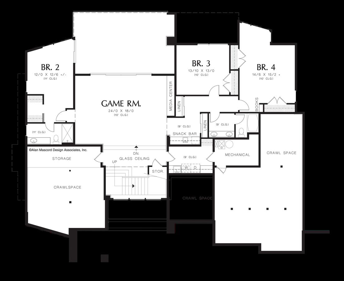 mascord house plan 1410 the norcutt