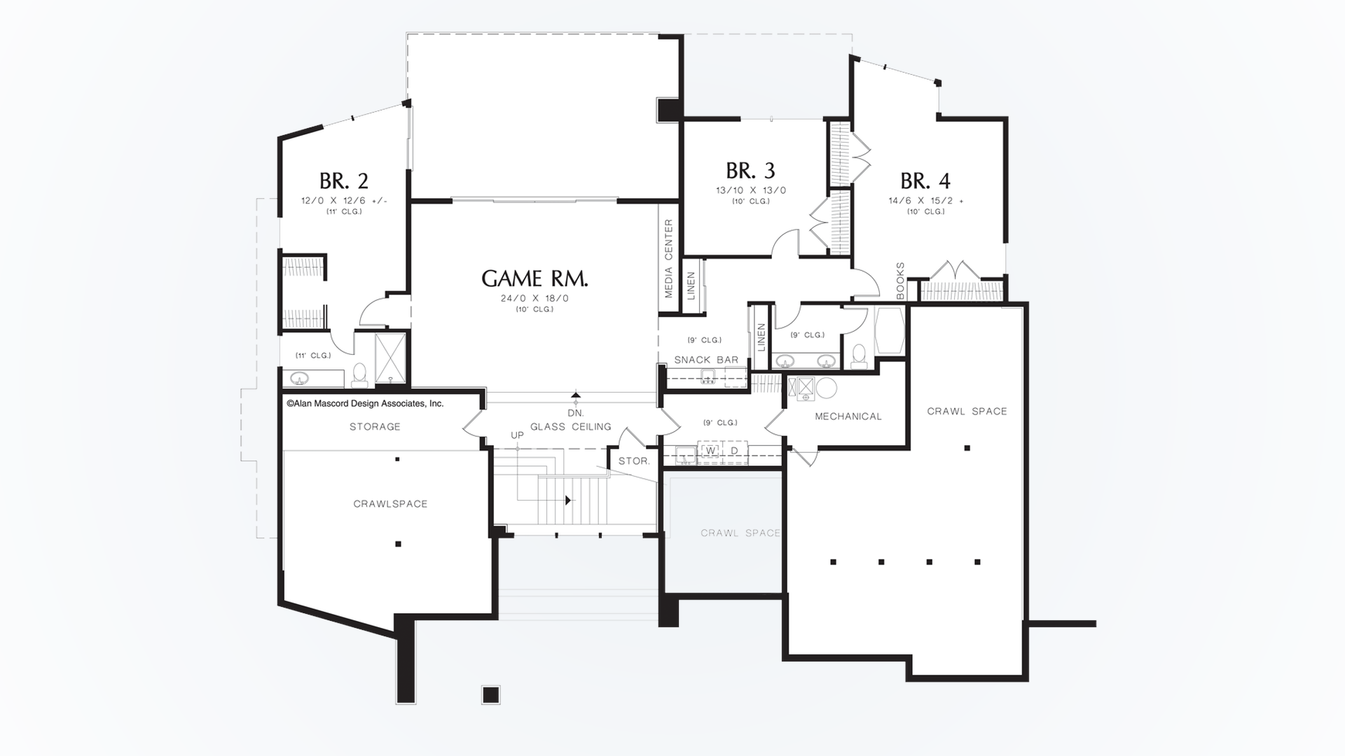 Awesome Crawl Space House Plans Images