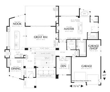 Image for Norcutt-Contemporary Plan with a Glass Floor-Main Floor Plan