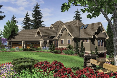 Image for Tasseler-Large One Story Plan with Walk-out Basement-800