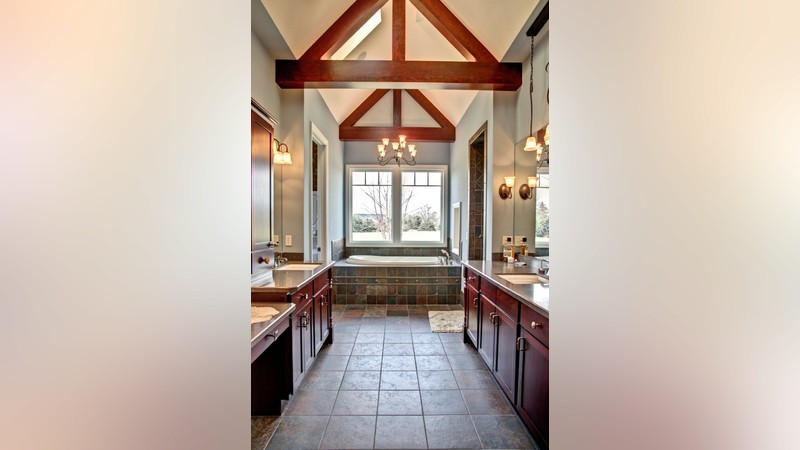 Image for Tasseler-Large One Story Plan with Walk-out Basement-Master Bathroom