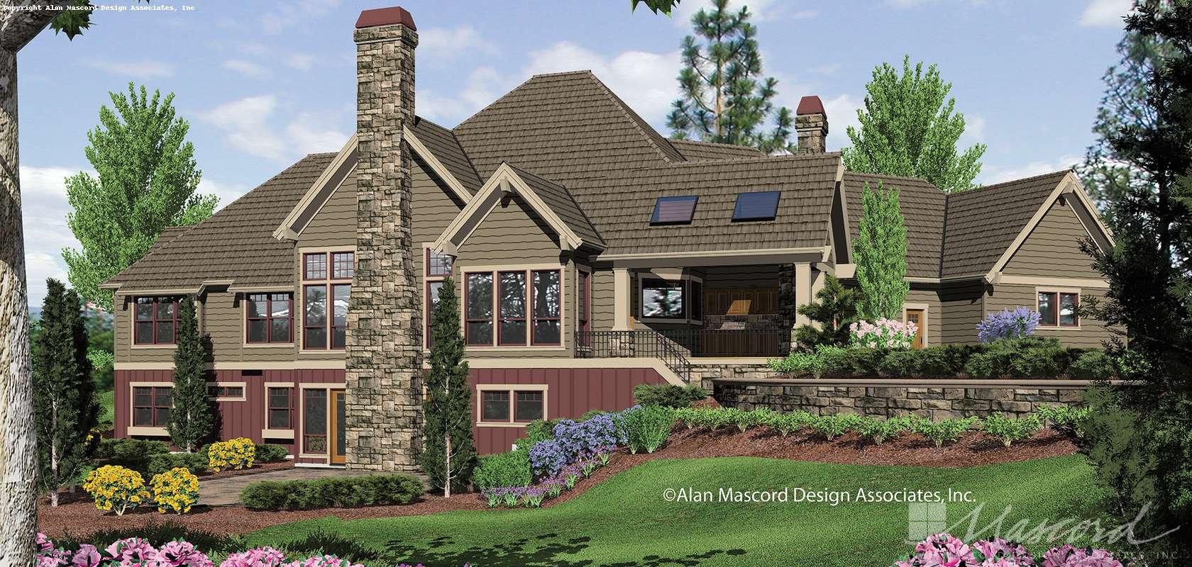 Mascord House Plan 1411: The Tasseler