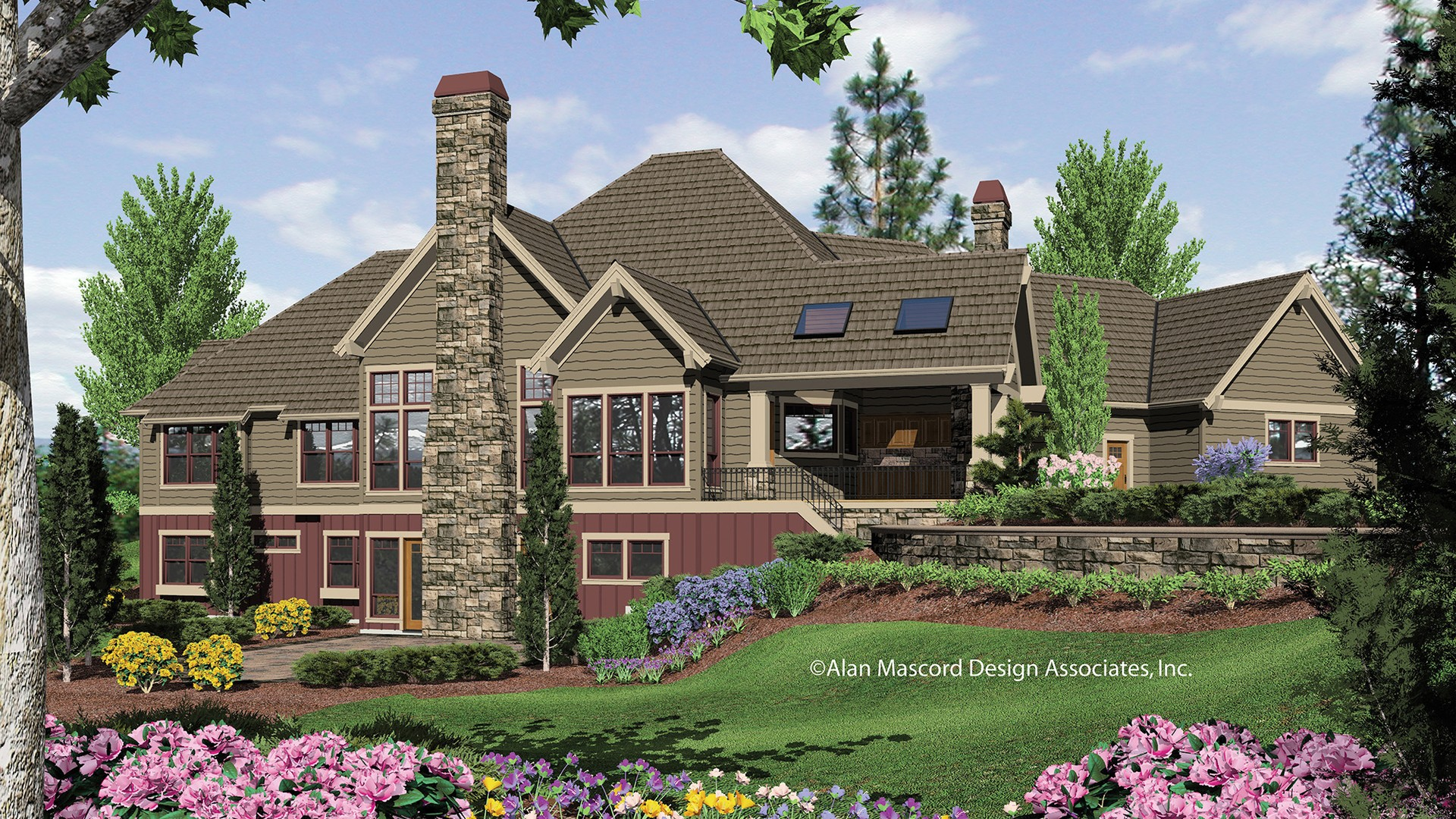 Craftsman House Plan 1411 The Tasseler: 4732 Sqft, 4 Beds